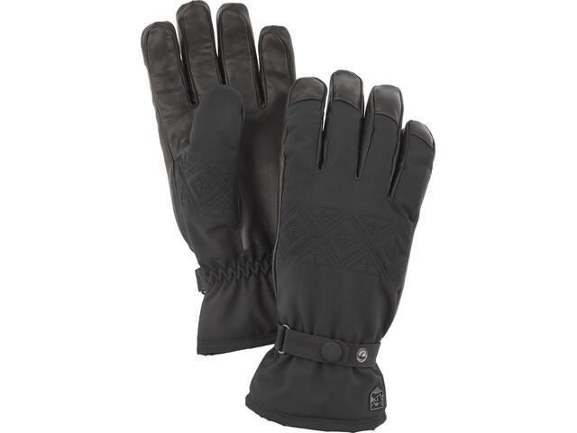 Hestra Swisswool Inverno Gloves Dam black